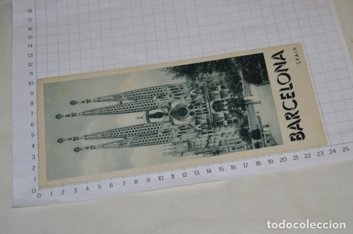 Folletos de turismo: FOLLETOS DE TURISMO ANTIGUOS y otros / Cataluña BARCELONA - Años 50 / 60 ¡Mira fotos y detalles! - Foto 7 - 205847728