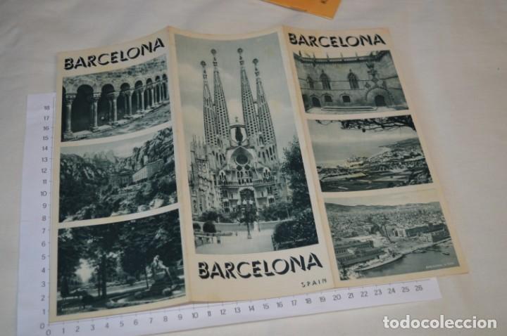 Folletos de turismo: FOLLETOS DE TURISMO ANTIGUOS y otros / Cataluña BARCELONA - Años 50 / 60 ¡Mira fotos y detalles! - Foto 8 - 205847728
