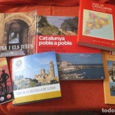Folletos de turismo: CATALUÑA - LIBROS Y FOLLETOS DE INFORMACIÓN Y TURISMO. Lote 206276841