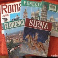 Folletos de turismo: ITALIA - LIBROS DE TURISMO. Lote 206277077