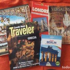 Folletos de turismo: EUROPA - LIBROS Y DOCUMENTACIÓN DE TURISMO. Lote 206277701
