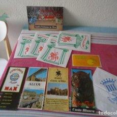 Folletos de turismo: LOTE PROPAGANDA TURISMO ALICANTE AÑO 1982,SAFARI AITANA,SAFARI VERGEL,MUNDO DE MAX,CASTILLO ALFAZ. Lote 206416602