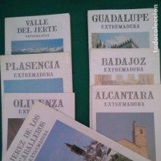 Folletos de turismo: SIETE FOLLETOS - EXTREMADURA ENCLABE 92 - JUNTA DE EXTREMADURA. Lote 206435247