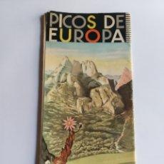 Folletos de turismo: PICOS DE EUROPA . PLANO GENERAL TURÍSTICO J ARIAS CORCHO. CANTABRIA RUTAS MONTAÑA. Lote 207056570