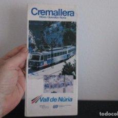 Folletos de turismo: FOLLETO PROPAGANDA COMARCA DEL RIPOLLES. Lote 207125248