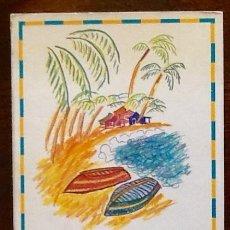 Folletos de turismo: GUIA DE SANTO DOMINGO. V CENTENARIO-IBERIA. . . ENVIO INCLUIDO.. Lote 207309827