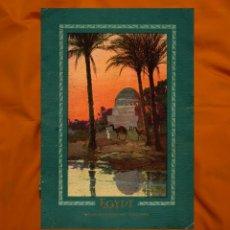 Folletos de turismo: 1930 GUÍA TURÍSTICA DE VIAJES POR EL MEDITERRÁNEO PARA VISITAR EGIPTO EN BARCOS A VAPOR 1930. Lote 72416247