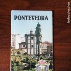 Folletos de turismo: CALLEJERO PONTEVEDRA. CAJA DE AHORROS PROVINCIAL DE PONTEVEDRA. 1984. Lote 207771965