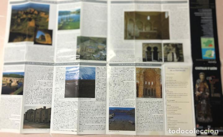 Folletos de turismo: FOLLETO ENCRUCIJADAS, EXPOSICION LAS EDADES DEL HOMBRE ASTORGA, AÑO 2000, RUTAS Y MAPA DIOCESIS - Foto 2 - 208987208