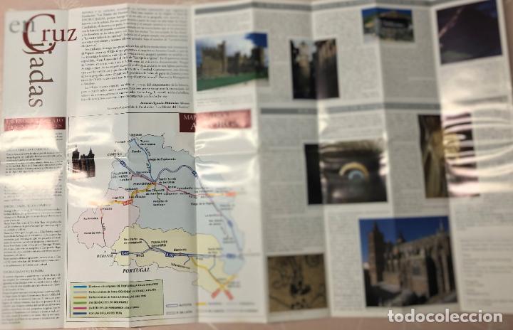 Folletos de turismo: FOLLETO ENCRUCIJADAS, EXPOSICION LAS EDADES DEL HOMBRE ASTORGA, AÑO 2000, RUTAS Y MAPA DIOCESIS - Foto 3 - 208987208
