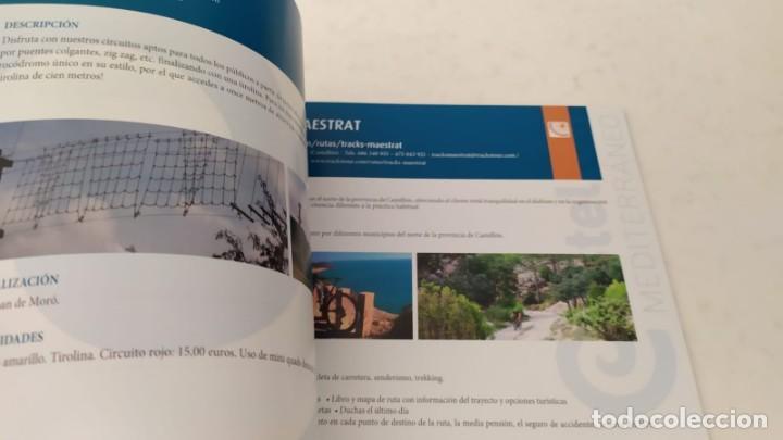 Folletos de turismo: Guia turística TURISMO ACTIVO de la Provincia Castellón senderismo navegación bicicleta - Foto 13 - 209357835