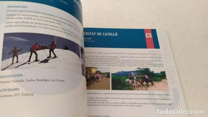 Folletos de turismo: Guia turística TURISMO ACTIVO de la Provincia Castellón senderismo navegación bicicleta - Foto 15 - 209357835