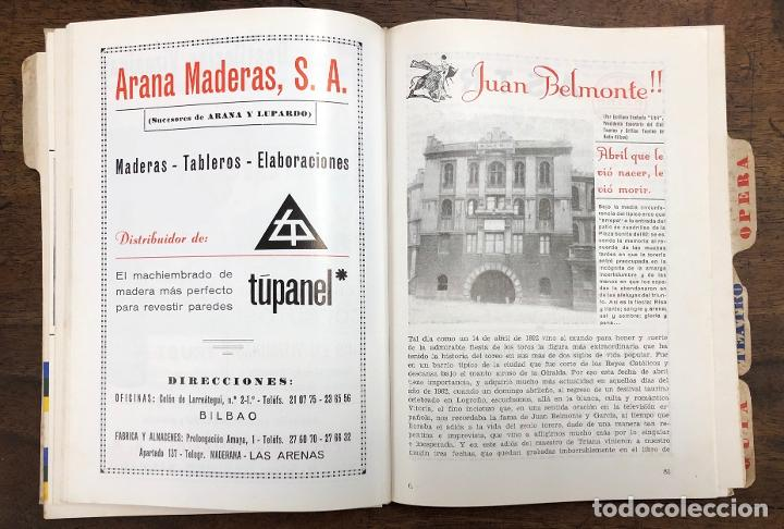 Folletos de turismo: PROGRAMA OFICIAL FIESTAS DE BILBAO AÑO 1969 - Foto 3 - 210000730