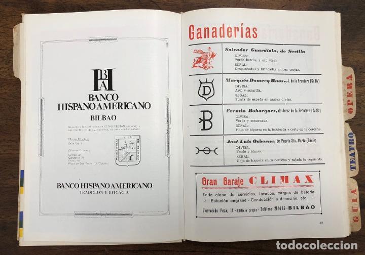 Folletos de turismo: PROGRAMA OFICIAL FIESTAS DE BILBAO AÑO 1969 - Foto 5 - 210000730