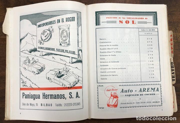 Folletos de turismo: PROGRAMA OFICIAL FIESTAS DE BILBAO AÑO 1967 - Foto 2 - 210001155