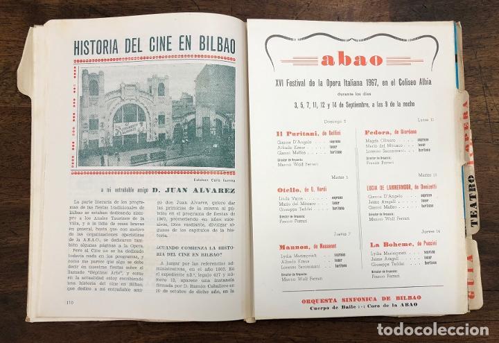 Folletos de turismo: PROGRAMA OFICIAL FIESTAS DE BILBAO AÑO 1967 - Foto 4 - 210001155