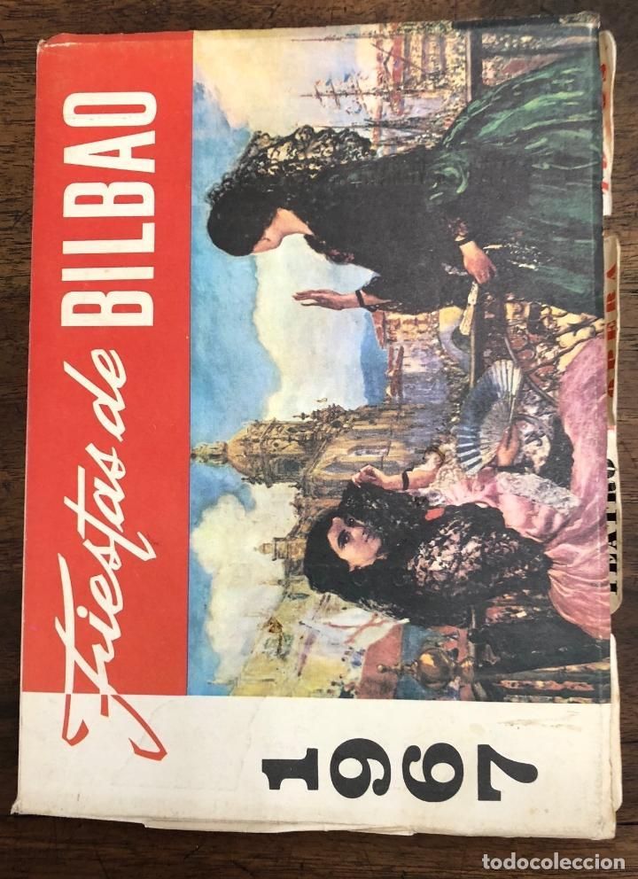 PROGRAMA OFICIAL FIESTAS DE BILBAO AÑO 1967 (Coleccionismo - Folletos de Turismo)