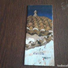 Folletos de turismo: FOLLETO DE PUBLICIDAD, IBIZA-EIVISSA, CON PLANO EN EL INTERIOR.. Lote 210398322
