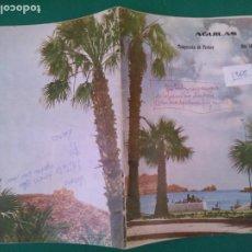 Folletos de turismo: AGUILAS - 1968 TEMPORADA DE VERANO - 42 PAGINAS CON INFORMACION Y FOTOS DE LA EPOCA - 24 X 17 CM.. Lote 210431493
