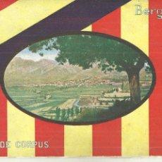 Folhetos de turismo: 4019.- BERGA - PROGRAMA DE LES FESTES DE CORPUS BERGA 1931. Lote 210549077