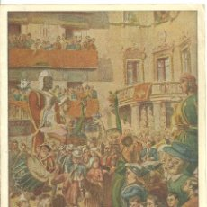 Folhetos de turismo: 4019.- CIUDAD DE BERGA -LA PATUM CORPUS DE 1952 - PROGRAMA. Lote 210574517
