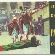 Folhetos de turismo: 4019.- CIUDAD DE BERGA -LA PATUM CORPUS DE 1957 - PROGRAMA. Lote 210574712