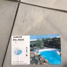 Folletos de turismo: ENTRADA LOS JAMEOS DEL AGUA LANZAROTE. Lote 210585495
