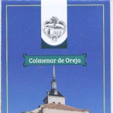 Folletos de turismo: ESPAÑA - SPAIN - COLMENAR DE OREJA - MADRID - INCLUYELUFARES DE INTERÉS Y MAPA. Lote 210970805