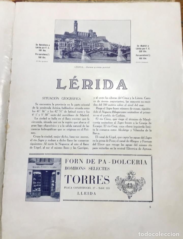 Folletos de turismo: Guia Lerida - Huesca y el pirineo central - Foto 4 - 211261494