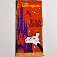 Folletos de turismo: EURO DISNEYLAND FOLLETO Y PROGRAMA DE VISITA AL PARQUE 1991-93 APROX. Lote 211393372