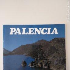 Folletos de turismo: PALENCIA - RUTAS TURÍSTICAS. Lote 211485681