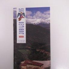 Folletos de turismo: FOLLETO LIEBANA JUBILEO 95. CANTABRIA. Lote 211734051