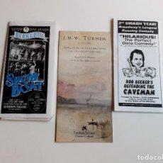 Folletos de turismo: FOLLETOS PROGRAMAS DE TEATRO Y O MUSICAL. Lote 211912338