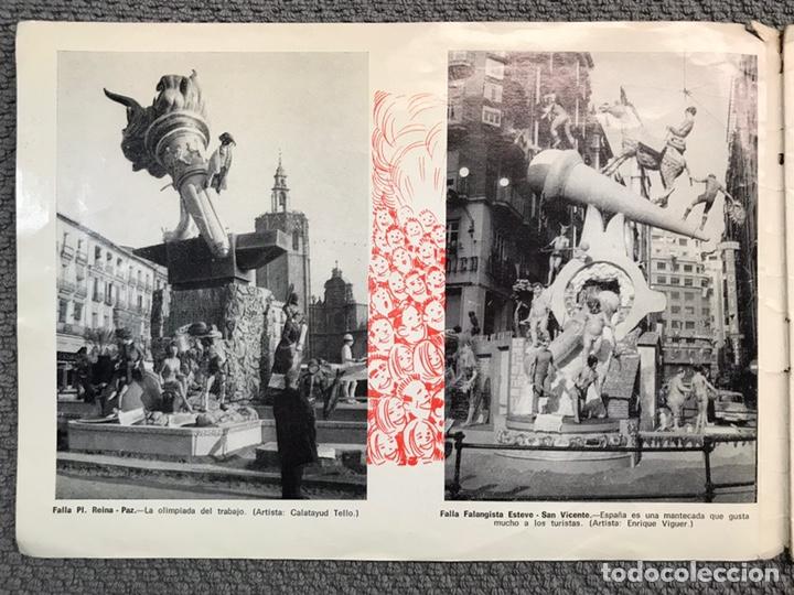 Folletos de turismo: FALLAS VALENCIA. ALBUM GUIA, Bayarri, 40 fotografias Fallas (Marzo de 1970) - Foto 2 - 212289033