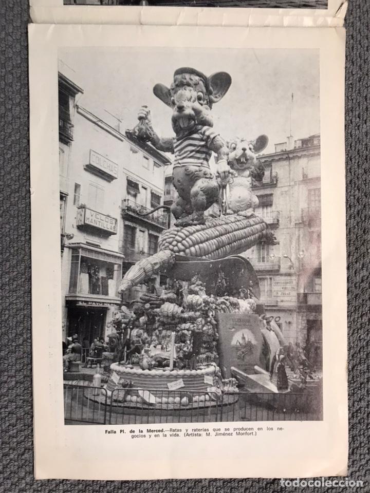 Folletos de turismo: FALLAS VALENCIA. ALBUM GUIA, Bayarri, 40 fotografias Fallas (Marzo de 1970) - Foto 3 - 212289033
