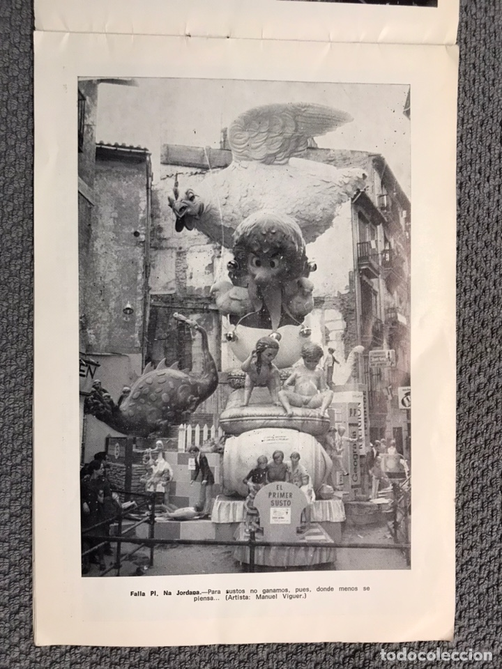 Folletos de turismo: FALLAS VALENCIA. ALBUM GUIA, Bayarri, 40 fotografias Fallas (Marzo de 1970) - Foto 5 - 212289033