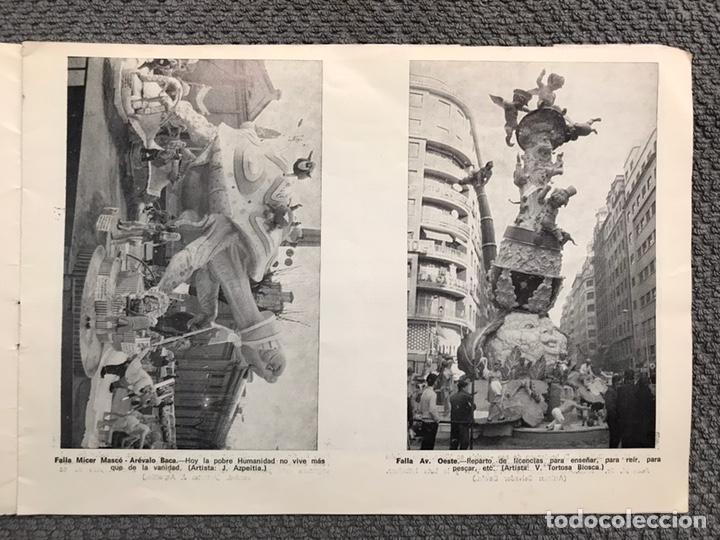 Folletos de turismo: FALLAS VALENCIA. ALBUM GUIA, Bayarri, 40 fotografias Fallas (Marzo de 1970) - Foto 7 - 212289033
