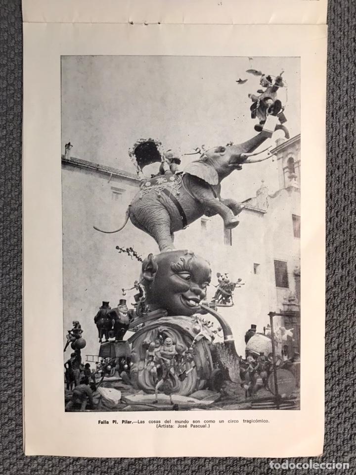 Folletos de turismo: FALLAS VALENCIA. ALBUM GUIA, Bayarri, 40 fotografias Fallas (Marzo de 1970) - Foto 9 - 212289033