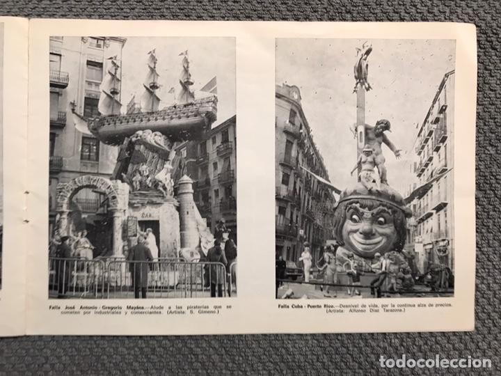 Folletos de turismo: FALLAS VALENCIA. ALBUM GUIA, Bayarri, 40 fotografias Fallas (Marzo de 1970) - Foto 15 - 212289033