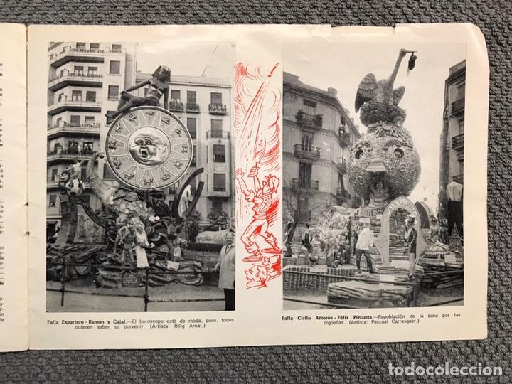 Folletos de turismo: FALLAS VALENCIA. ALBUM GUIA, Bayarri, 40 fotografias Fallas (Marzo de 1970) - Foto 19 - 212289033