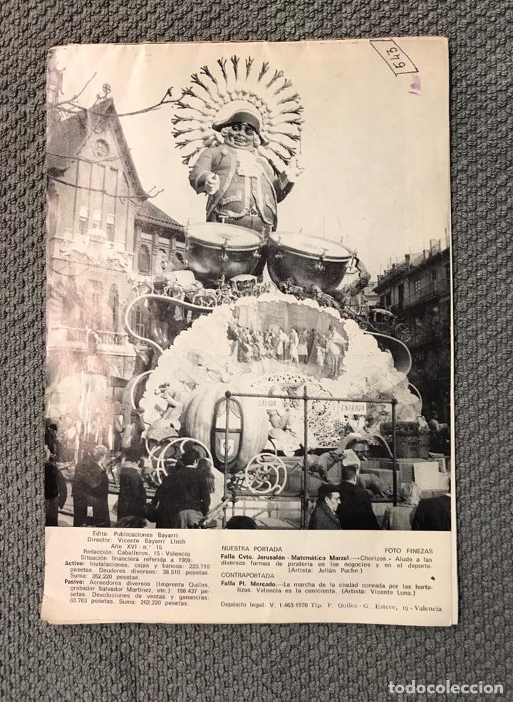 Folletos de turismo: FALLAS VALENCIA. ALBUM GUIA, Bayarri, 40 fotografias Fallas (Marzo de 1970) - Foto 20 - 212289033