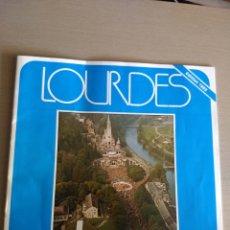Folletos de turismo: FOLLETO TURISMO LOURDES. RESTAURANTES Y HOTELES. AÑO 1985. Lote 214401725