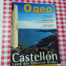 Folletos de turismo: CASTELLÓN .LAND ER TAUSEND BILDER .EN ALEMÁN. Lote 214902256