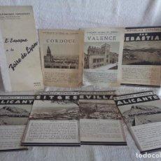 Folletos de turismo: PATRONATO NACIONAL DE TURISMO. REPÚBLICA ESPAÑOLA ( EN FRANCÉS). Lote 216707793
