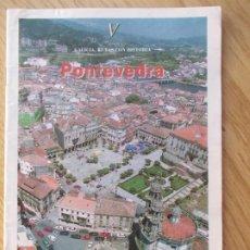"""Folletos de turismo: FASCÍCULO V """" GALICIA, RUTAS CON HISTORIA"""" FARO DE VIGO. Lote 217410453"""