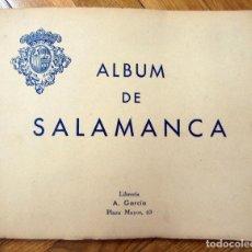 Folletos de turismo: ÁLBUM DE SALAMANCA. -HAUSER Y MENET, HUECOGRABADO. Lote 217917582