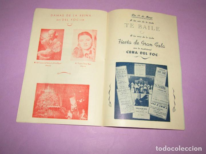 Folletos de turismo: Antiguo Llibret de Fallas de Valencia Falla PARADOR DEL FOC Regocijos y Jolgorios del Año 1958 - Foto 4 - 218116190