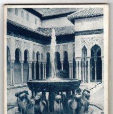 Folletos de turismo: GUIA BREVE DE LA ALHAMBRA Y DEL GENERALIFE. JOSE MARTIN Y MARTIN-ALHAMAR. EDITORIAL PRIETO, 1952. Lote 219177132
