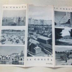 Folletos de turismo: FOLLETO TURÍSTICO DE LA CORUÑA EDITADO POR DIRECCIÓN GENERAL DE TURISMO HACIA 1940. Lote 219527340