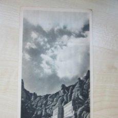 Folletos de turismo: FOLLETO TURÍSTICO DE MONSERRAT EDITADO POR DIRECCIÓN GENERAL DE TURISMO HACIA 1940. Lote 219534598